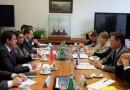Александр Новак провел встречу с Министром экономики Турции Нихатом Зейбекчи