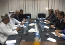 Александр Новак встретился с Генеральным секретарем ОПЕК Мухаммедом Баркиндо и Министром энергетики Королевства Катар Мухаммедом бен Салехом ас-Садой