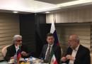 Александр Новак провел встречу c Министром энергетики Ирана Хамидом Читчияном