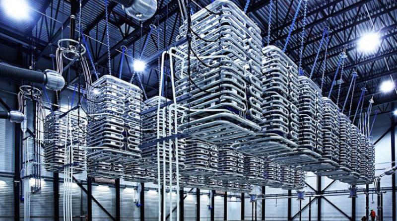 Вставка постоянного тока в г. Бентвиш, связывающая электросети Восточной Дании и Северной Германии. Фото: abb.com