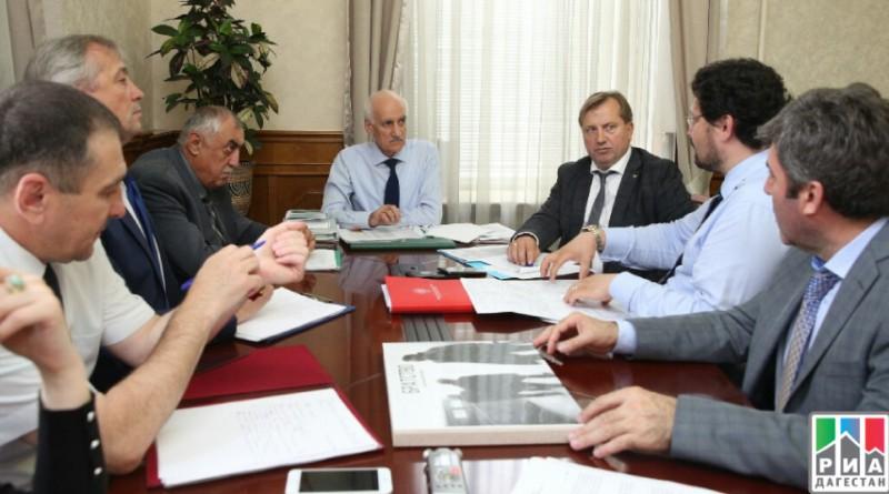 Совещание в Дагестане