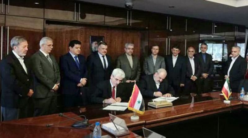Иран и Сирия подписали меморандум о взаимопонимании