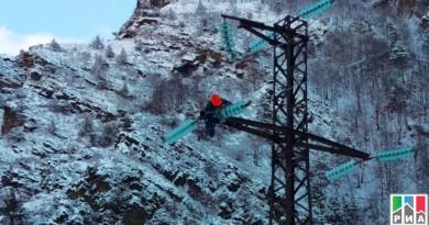 Электроснабжение для 45 тысяч человек восстановили в Дагестане