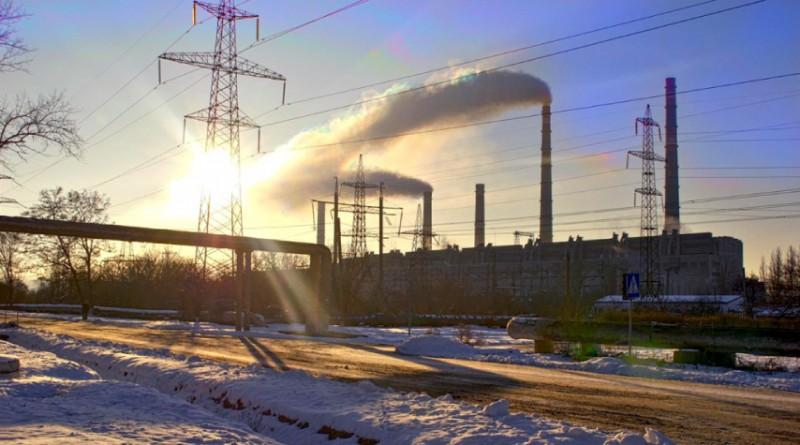 Славянская ТЭС в Донецкой области