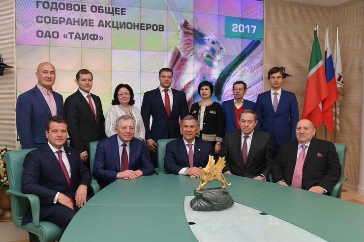 Встреча в Мюнхене: руководство ГК ТАИФ обсудило перспективы сотрудничества с немецкими компаниями