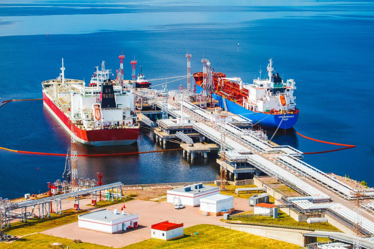 ЛУКОЙЛ построит в порту Высоцк в Ленобласти новый угольный терминал