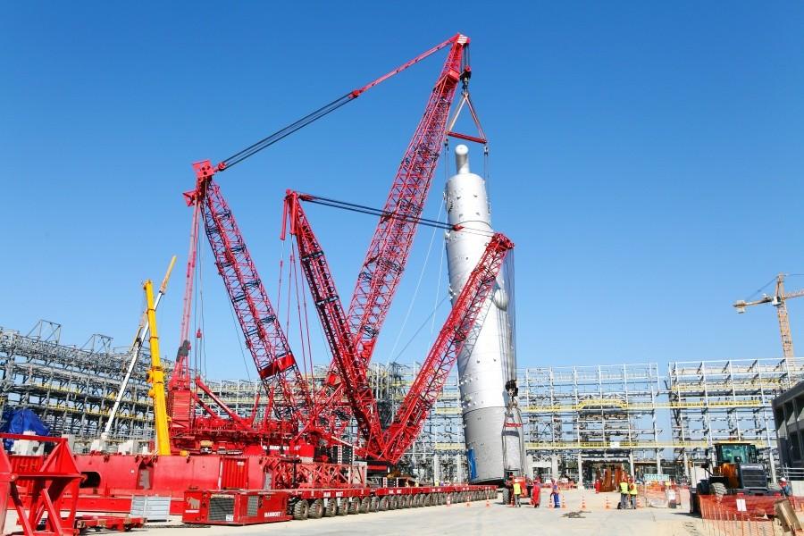 Общая сумма участия в строительстве «ЗапСибНефтехима» составила более 280 млрд руб