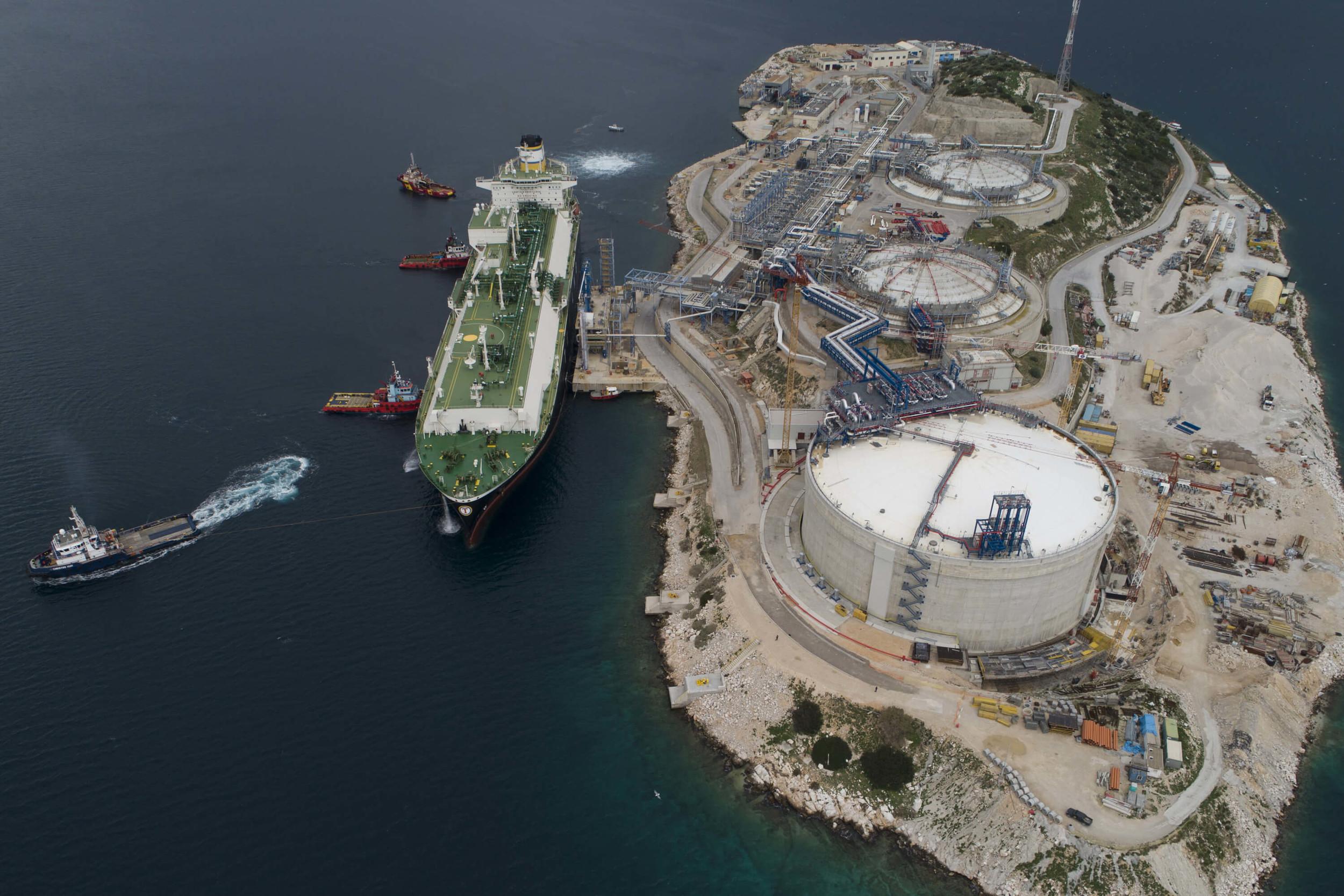 Импорт сжиженного газа в ЕС из США вырос за год на 181%, до 7.9 млрд кубометров