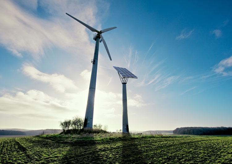 Немцы будут накапливать энергию солнца и ветра в спирте, метане или в другой энергетической «химии»