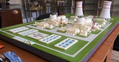 Макет Балтийской АЭС
