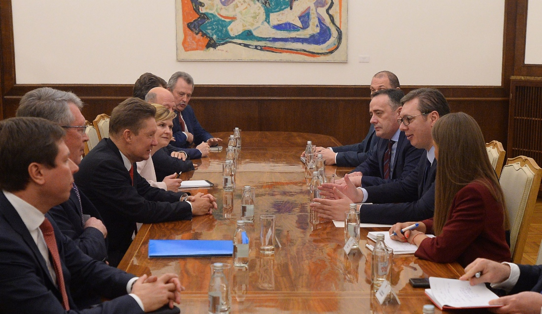 Об итогах визита делегации «Газпрома» в Сербию