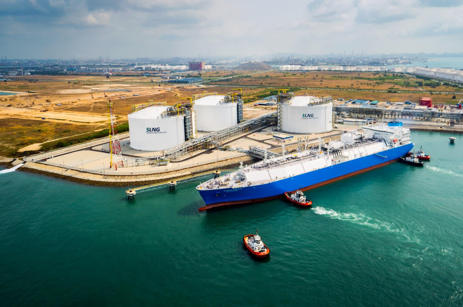 Singapore LNG Corporation завершила реконструкцию СПГ терминала на острове Джуронг
