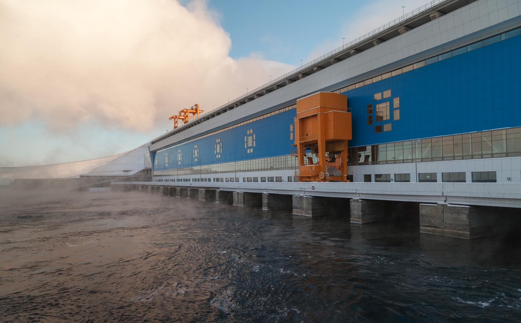 Богучанская ГЭС выработала 70 млрд киловатт-часов электроэнергии