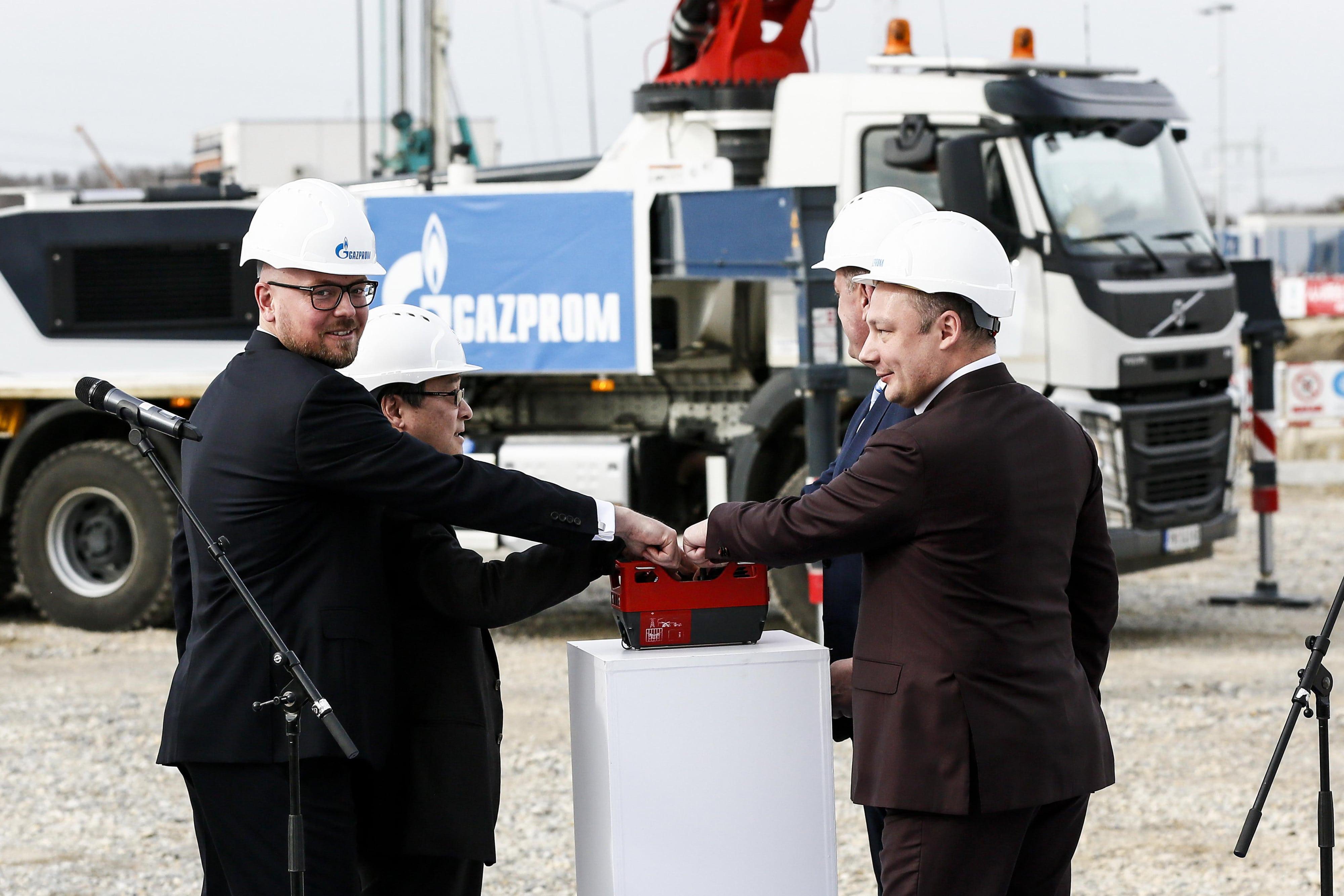 «Газпром» начал строительство теплоэлектростанции в Сербии