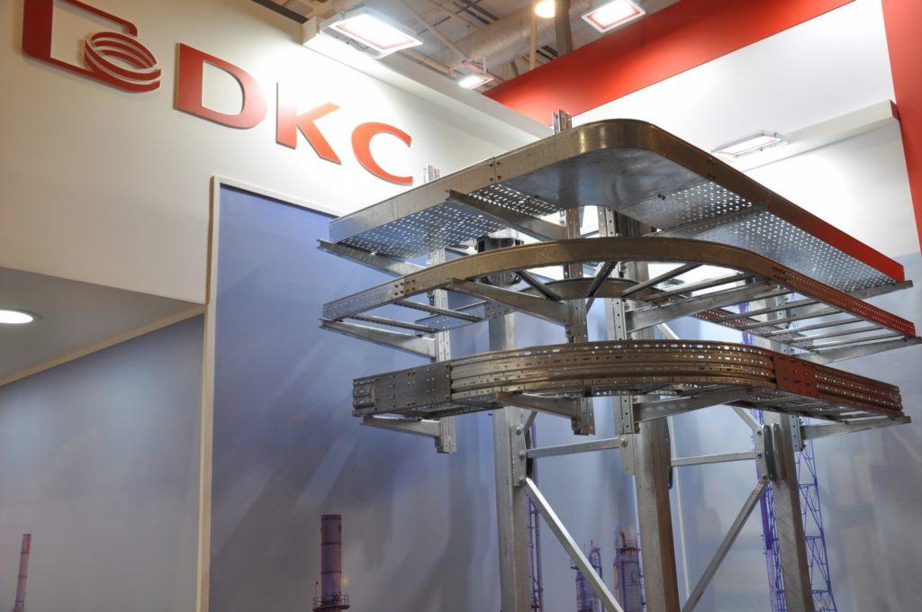 Система металлических лотков от DKC на выставке ЭЛЕКТРО-2019, НЕФТЕГАЗ-2019 (ELECTRO-2019 NEFTEGAZ-2019) ENERGOSMI.RU