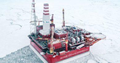 «Газпром нефть» добыла на Приразломном месторождении 10-миллионную тонну нефти