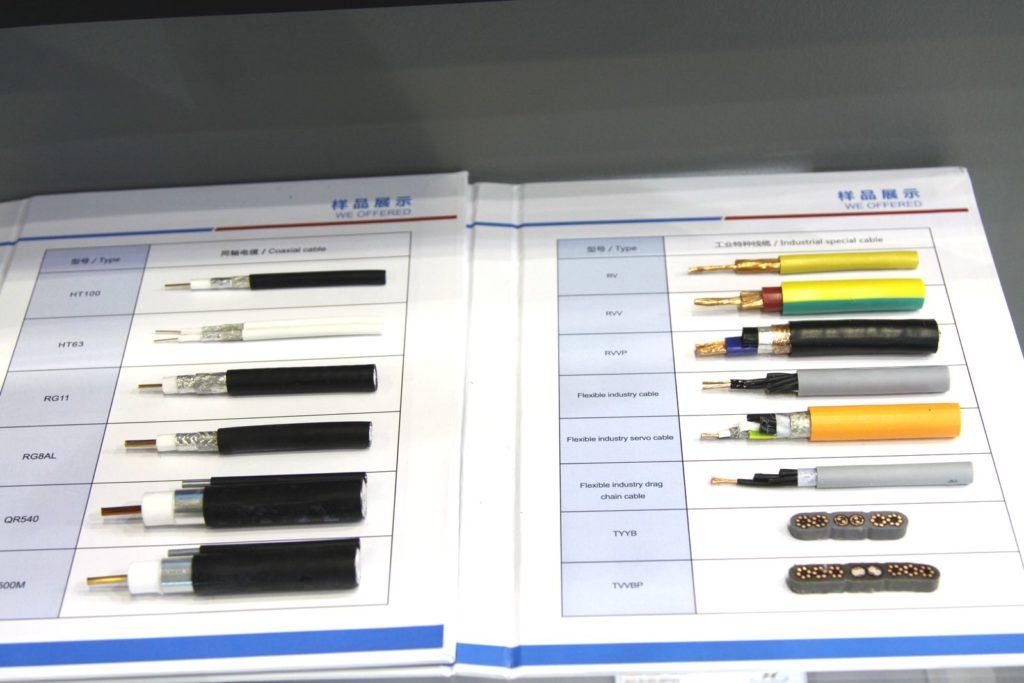 Виды кабелей в разрезе СВЯЗЬ-2019 (SVYAZ-2019) RusCable.Ru ENERGOSMI.RU
