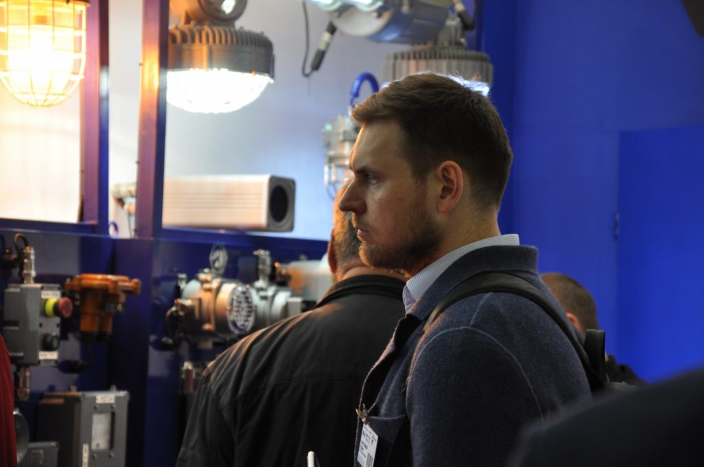 Посетитель выставки ЭЛЕКТРО-2019, НЕФТЕГАЗ-2019 (ELECTRO-2019 NEFTEGAZ-2019) ENERGOSMI.RU