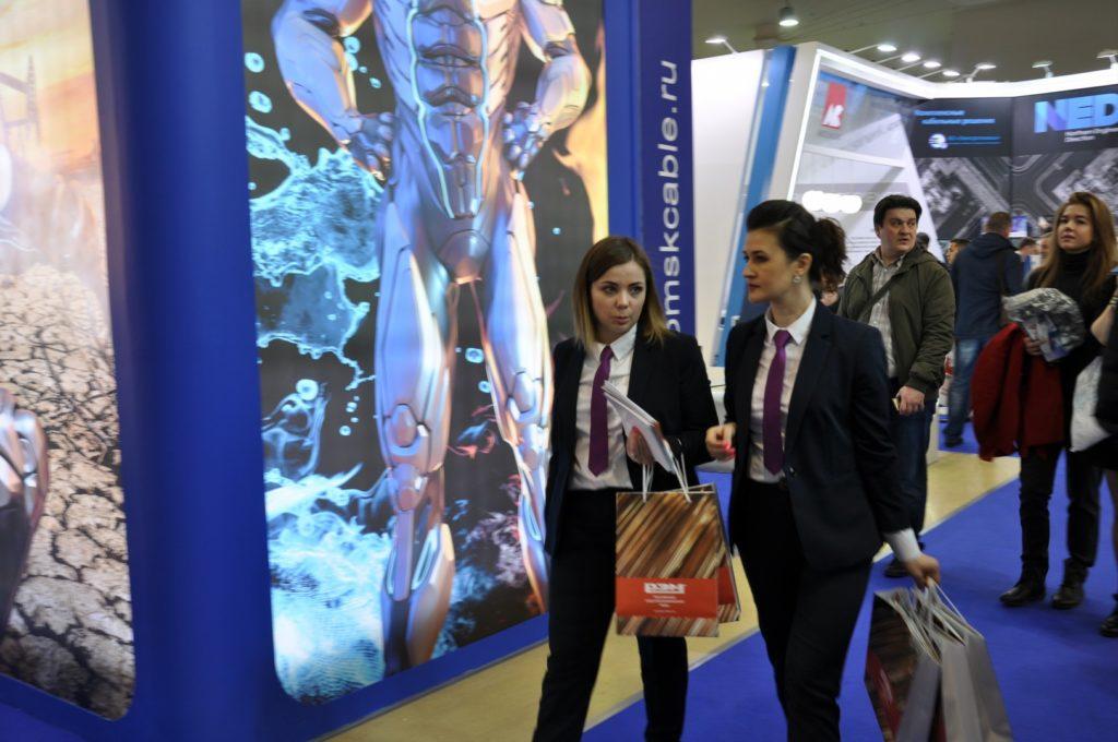 Стильные участники выставки ЭЛЕКТРО-2019, НЕФТЕГАЗ-2019 (ELECTRO-2019 NEFTEGAZ-2019) ENERGOSMI.RU