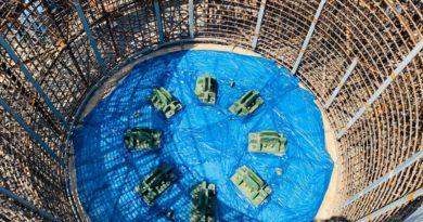 На энергоблоке №2 АЭС «Руппур» (Бангладеш) приступили к монтажу устройства локализации расплава
