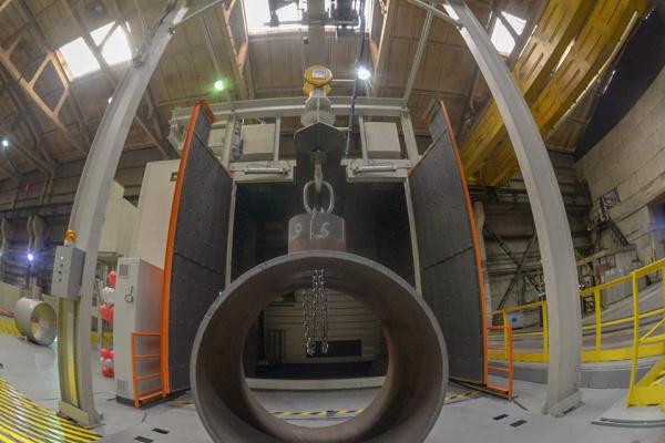Завод «Трубодеталь» ввел в эксплуатацию новый дробеметный комплекс - новости на ЭНЕРГОСМИ.РУ