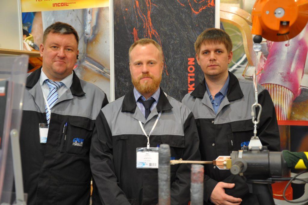 Сотрудники компании INCOIL на выставке ЭЛЕКТРО-2019, НЕФТЕГАЗ-2019 (ELECTRO-2019 NEFTEGAZ-2019) ENERGOSMI.RU.