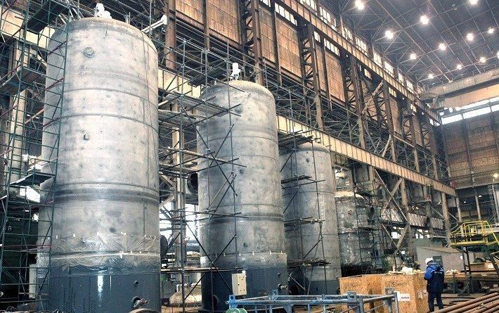 Волгограднефтемаш отгружает оборудование для строящегося в Омске катализаторного завода - новости нефтяной отрасли на ЭНЕРГОСМИ.РУ