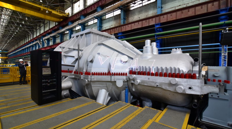 Уральский турбинный завод впервые в России изготовил турбину для мусоросжигательных заводов