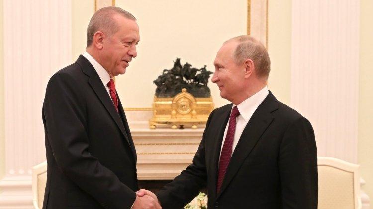 Путин назвал срок запуска АЭС «Аккую» в Турции