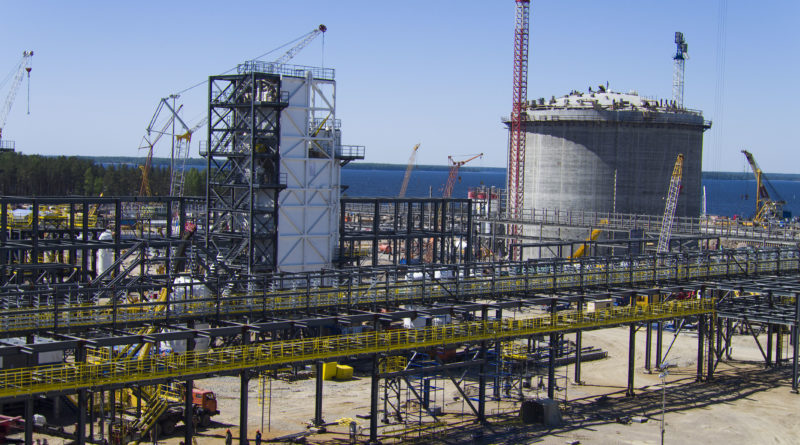 НОВАТЭК может увеличить мощности СПГ-завода в Высоцке в три раза