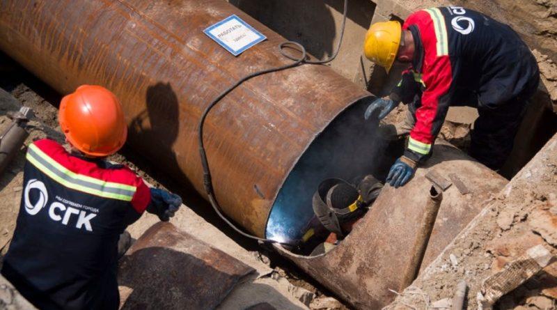 СГК приступила к реконструкции крупной тепломагистрали в Барнауле