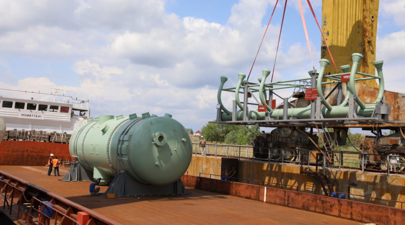 Атоммаш приступил к отгрузке парогенераторов для строящегося 4-го энергоблока АЭС Куданкулам в Индии