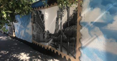 Энергообъекты «Россети Юг» украсили работы художников-граффитистов