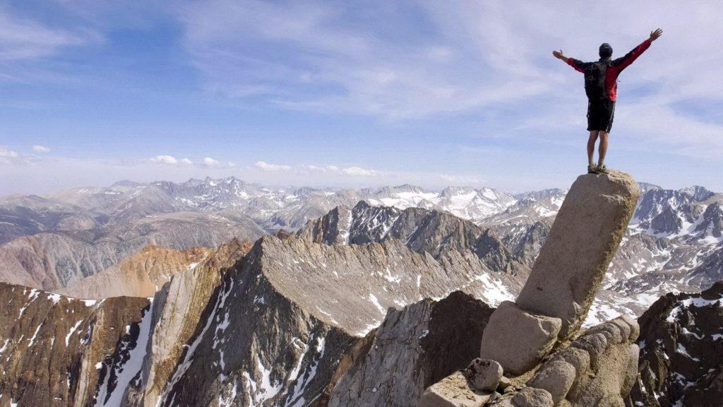 Вперед, постигать вершины жизни!