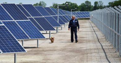 Астраханский филиал МРСК Юга принял в свои сети первые киловатты электроэнергии Ахтубинской СЭС