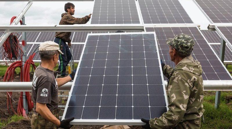 Свыше 3 млн кВтч «солнечной» энергии поступило с двух новых солнечных электростанций в Асстраханской области
