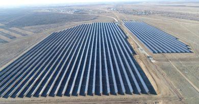 В Оренбургской области введена в эксплуатацию Григорьевская солнечная электростанция