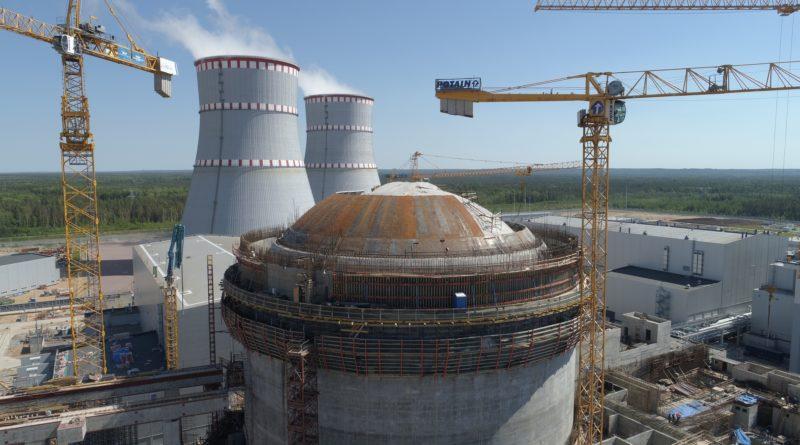 Ленинградская АЭС-2: на энергоблоке №2 ВВЭР-1200 готовятся к монтажу насосов для подачи морской воды на очистку