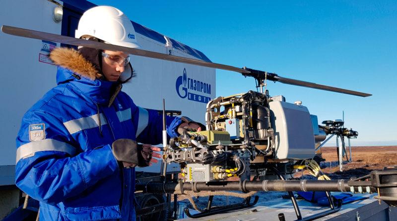 «Газпром нефть» первой в России применила беспилотники для поиска углеводородов