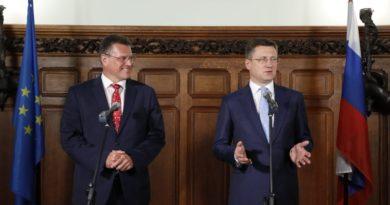 Александр Новак: «Россия рассчитывает на прагматичный подход Украины в трехсторонних переговорах»