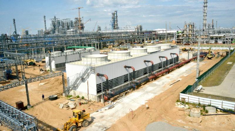 Строительство комплекса H-Oil на Мозырском НПЗ – блок оборотного водоснабжения