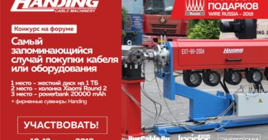 "Handing открывает ""марафон подарков wire Russia -2019"" на форуме RusCable.Ru! Участвуй и выигрывай!"
