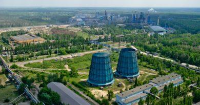 Новая электростанция мощностью 300 МВт на НЛМК снизит выбросы СО на 3 тыс. тонн в год, СО2 на 650 тыс. тонн в год