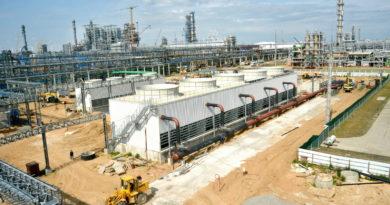 Строительство комплекса H-Oil на Мозырском НПЗ – узел приготовления раствора кальцинированной соды