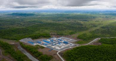 Завершено заполнение подводящего участка отвода от ВСТО на Комсомольский НПЗ