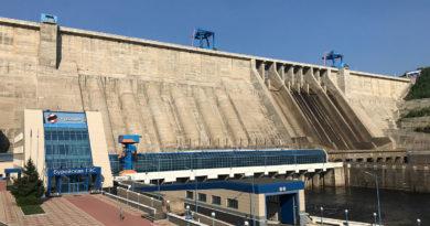 Бурейская ГЭС завершила пропуск воды через водосброс