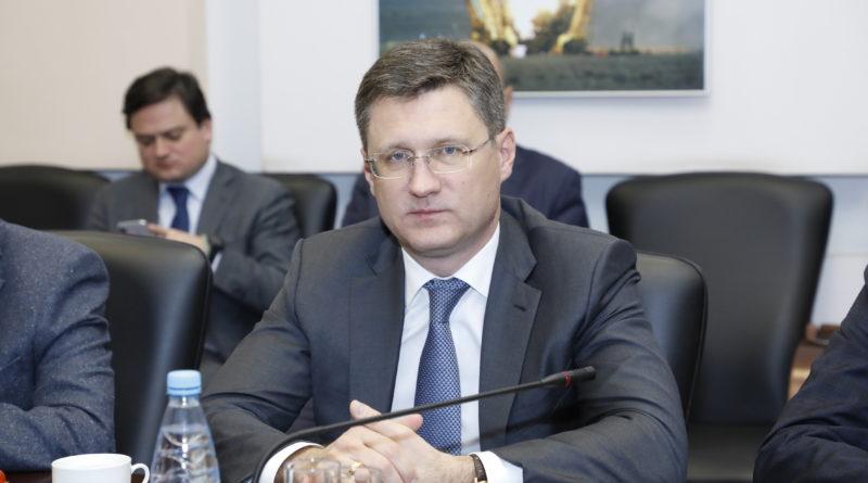 """Александр Новак: """"Скоординированные действия производителей нефти являются ключевым фактором для обеспечения стабильности рынка"""""""
