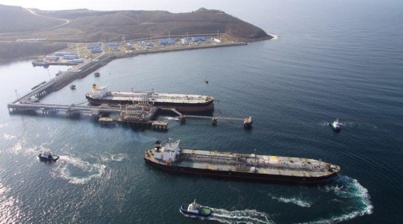 Экспорт нефти через порт Козьмино в первом полугодии 2019 года составил 16,3 млн тонн