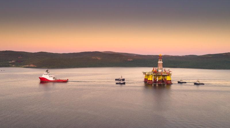 Началась мобилизация буровых платформ до места геологоразведочных работ в Арктике