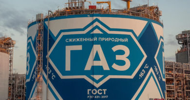 НОВАТЭК запустит первую СПГ-линию по российской технологии в первом квартале 2020 года